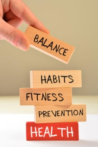 Balance Habits Fitness Prevention
